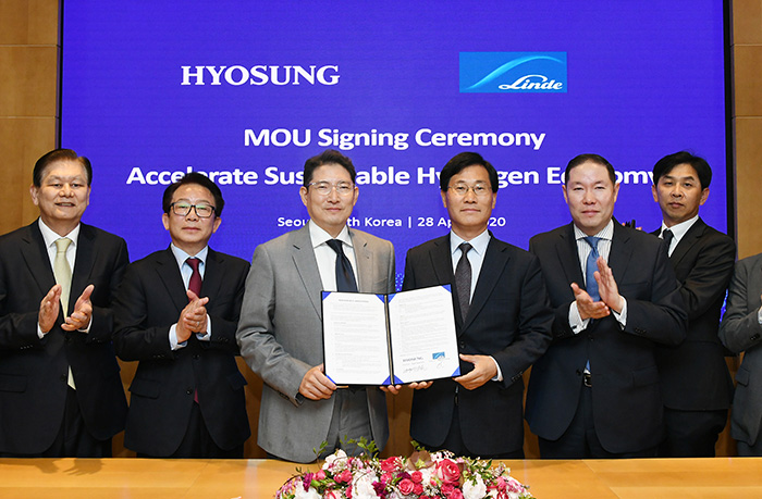 Chairman Hyun-Joon Cho to construct the world's largest liquid hydrogen plant